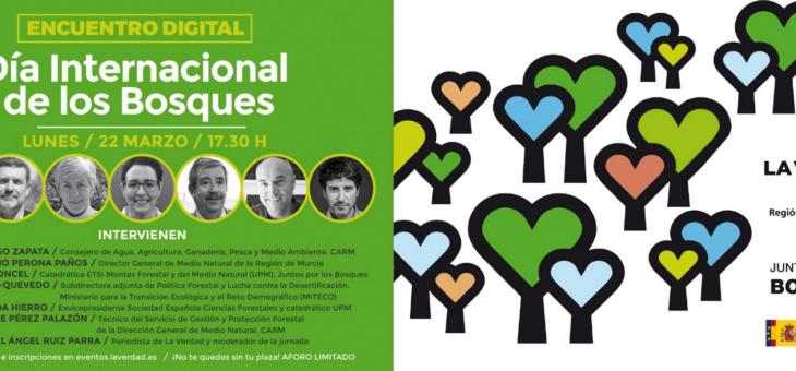 Murcia acoge la presentación oficial del Día Internacional de los Bosques 2021